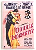 Double Indemnity Movie Poster Fridge Magnet (2 x 3 inches)