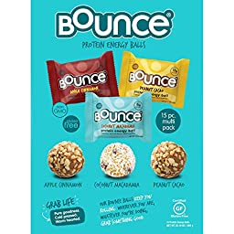 Bounce Natural Energy Ball Gluten Free Variety Pack