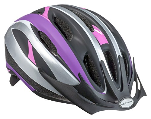 Schwinn Youth Girl's Intercept Helmet, Purple/Pink