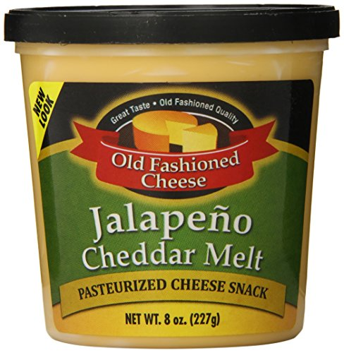 (Old Fashioned Cheese Melt, Jalapeno, 8 Ounce (Pack of 12))