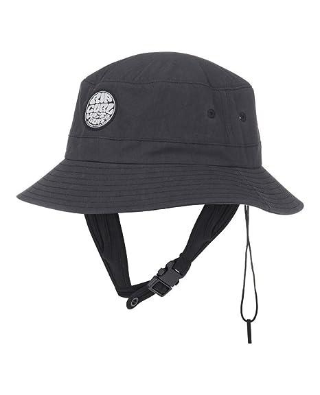 d4bed61b4 Amazon.com : Rip Curl 2019 Wetty Surf Bucket Hat Black CCAOS1 ...