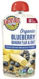 Earth's Best Organic Stage 2, Blueberry & Banana Breakfast, 4 Ounce Pouch