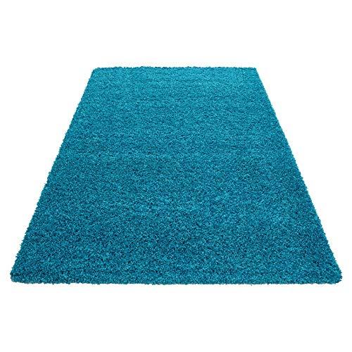 Hochflor Shaggy Teppich für Wohnzimmer Langflor Pflegeleicht Schadsstof Schadsstof Schadsstof geprüft Teppiche einfarbigOeko Tex Standarts , Farbe Braun, Maße 200x290 cm B07HLQY12G Teppiche c85893