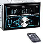 Boss Audio Systems 820BRGB Car Stereo - Double Din, Bluetooth, - NO CD DVD MP3 USB AM FM Radio, Multi Color Illumination