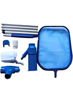 Mantenimiento de la piscina Redes de limpieza Kit de cabezal de succión Herramienta de limpieza Piscina de spa Chorro de vacío: Amazon.es: Coche y moto