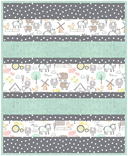 Minky Bambino Hay, There Cuddle Kit Quilt Kit Shannon Fabrics