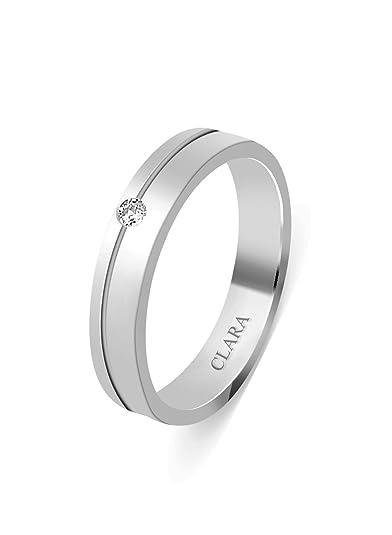 c331f891cc47 Clara Swarovski The Antonio Sterling Silver Ring for Men  Clara  Amazon.in   Jewellery