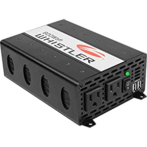 Whistler XP800i Power Inverter: 800 Watt Continuous / 1600 Watt Peak Power