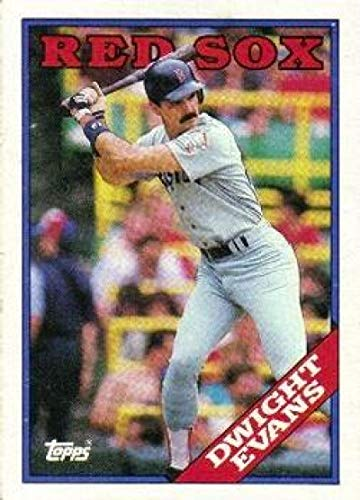Baseball MLB 1988 Topps #470 Dwight Evans NM-MT Red Sox