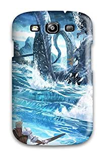 Durable Case For The Galaxy S3- Eco-friendly Retail Packaging(kraken)
