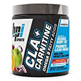 BPI Health CLA + Carnitine - CLA Plus Carnitine - Supports Metabolism - Helps Boost Performance - Non-Stimulant Formula - May Help Reduce Body Fat - Fruit Punch - 50 Servings - 11.29 oz.