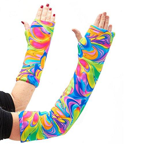 CastCoverz! Designer Arm Cast Cover - Colorcopia - Large Short: 13