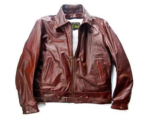 Horse Wulf Focke Leather Leather FW Luftwaffe 190 Jacket BBFTXqxw
