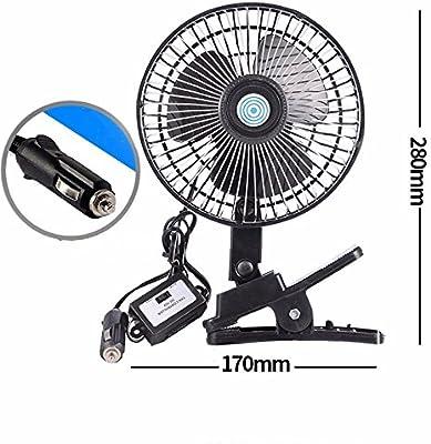 JISHUQICHEFUWU Ventilador del coche/12v/24v/coche con el Ventilador Grande del Ventilador/del Carro pequeño/Ventilador de Techo Grande de la energía eólica, F, 24V: Amazon.es: Coche y moto