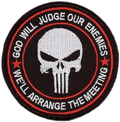 Titan One Europe Hook Fastener Bleeding Red Special Forces Punisher Seal ODA Navy Tacticala Patch Taktish Klettband Aufn/äher
