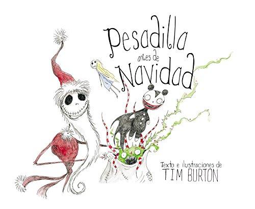Pesadilla antes de Navidad (Álbum Ilustrado): Amazon.es: Burton, Tim: Libros