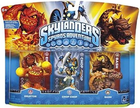 Skylanders Triple Pack C: Amazon.es: Videojuegos