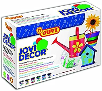 Jovi 670 - Pack de 6 botes de pintura acrilica, colores surtidos ...