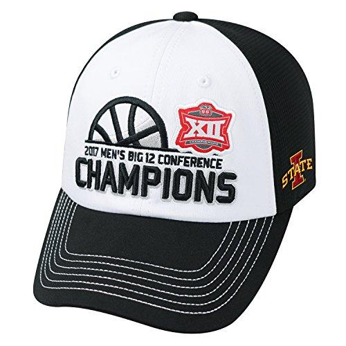Top of the World Iowa State Cyclones 2017 Big 12 Basketball Tournament Champs Locker Room Hat Cap
