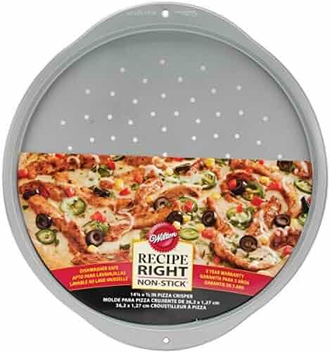 Wilton 2105-993 Recipe Right Nonstick Pizza Crisper, 14-Inch