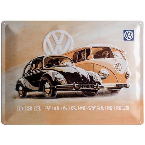 フォルクスワーゲン VW Käfer & Bus / ブリキ看板 TIN SIGN B006GNZHKI