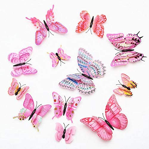 ALLICERE Butterfly Decorations Removable Classroom