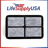 2 Pack Air Purifier HEPA Filter Replacement fits AC4010 and AC4020 FLT4010 Filter A by LifeSupplyUSA