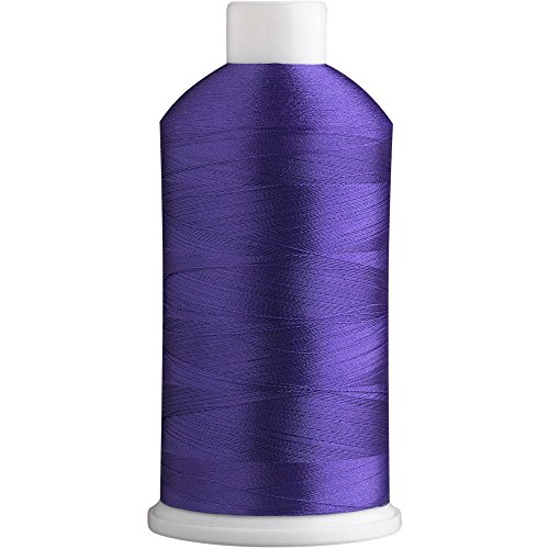 Superb Polyester Embroidery Thread 40wt 5000m. Rainbow Violet 1331 ()