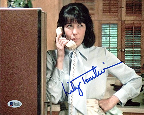 Tomlin Signed Photo - Lily Tomlin 9 to 5 Authentic Signed 8x10 Photo Autographed BAS #D17002