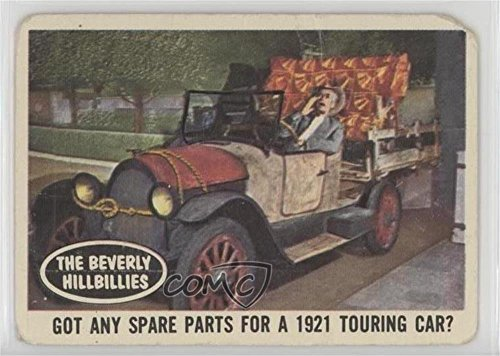 Got any spare parts for a 1921 touring car? COMC REVIEWED Poor (Trading Card) 1963 Topps Beverly Hillbillies - [Base] #19 (Bases Touring)