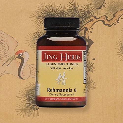 Cheap Jing Herbs Rehmannia 6 90 Capsules