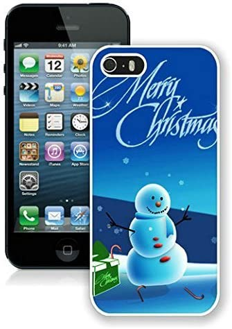 Amazon Com New Fashion Design Hard Protect Skin Case Cover Shell For Mobile Cell Phone Apple Iphone 5 5s Merry Christmas Christmas Snowman Iphone 5 5s Case 11 White
