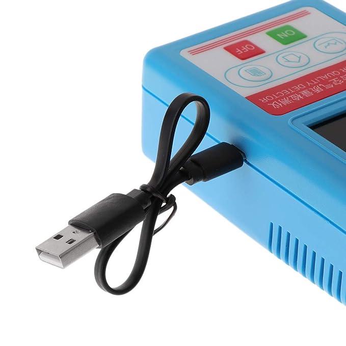 BIlinli Analizador de Gases Formaldehído CO2 Dióxido de Carbono HCHO TVOC Aire PM Partículas Monitor Detector de Calidad del Aire: Amazon.es: Hogar