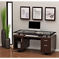 Z-Line Designs Ayden Executive Desk, Brown