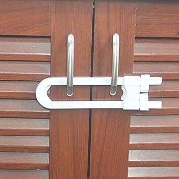 Amazon.com : CalGadget, Sliding Cabinet Locks For Child Safety ...