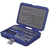 Michelin MSS-42-1/4 - Juego de llaves de vaso y carraca (42 piezas)