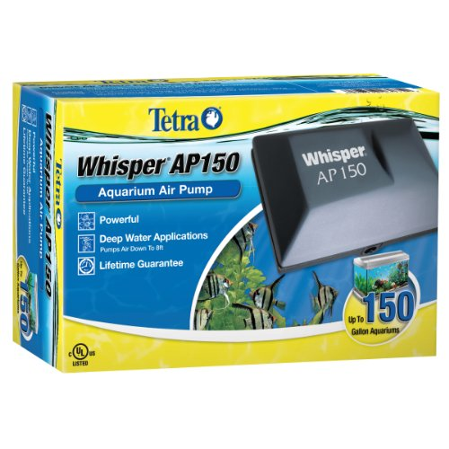 - Tetra Whisper AP150 Aquarium Air Pump, for Deep Water Applications
