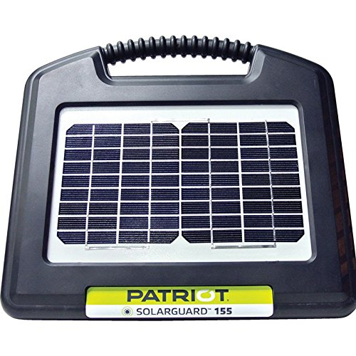Patriot SolarGuard 155 Fence Energizer, 0.15 Joule