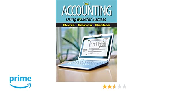 Amazon accounting using excel for success with essential amazon accounting using excel for success with essential resources excel tutorials printed access card managerial accounting 9781111535216 james fandeluxe Image collections
