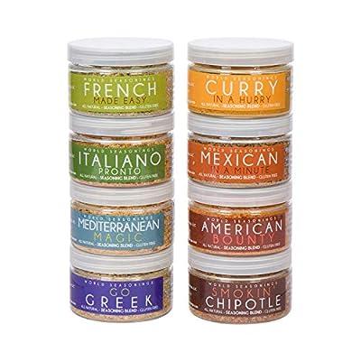World Seasonings Healthy Gluten Free Paleo Spice Mix Seasonings