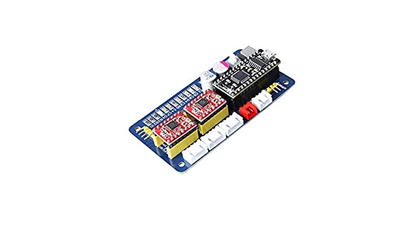 SE XY - Placa controladora de motor paso a paso de 2 ejes EleksMana Panel de control + cable USB + líneas 2P/3P/4P para grabado láser DIY: Amazon.es: Electrónica