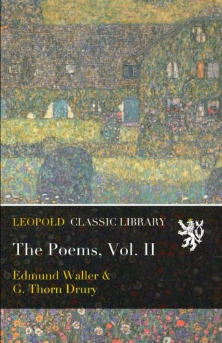 an analysis of the poem song by edmund waller Browse through edmund waller's poems and quotes 27 poems of edmund waller phenomenal woman, still i rise, the road not taken, if you forget me, dreams edmund waller was an english poet and politician who sat in the house of commons at various times.