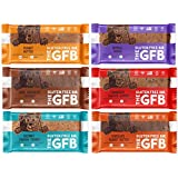 The GFB Gluten Free Snack Bars, Vegan, Protein, Gluten Free, NON-GMO Sampler Variety Pack by Variety Fun (12 Count)