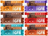 Cheap The GFB Gluten Free Snack Bars, Vegan, Protein, Gluten Free, NON-GMO Sampler Variety Pack by Variety Fun (12 Count)