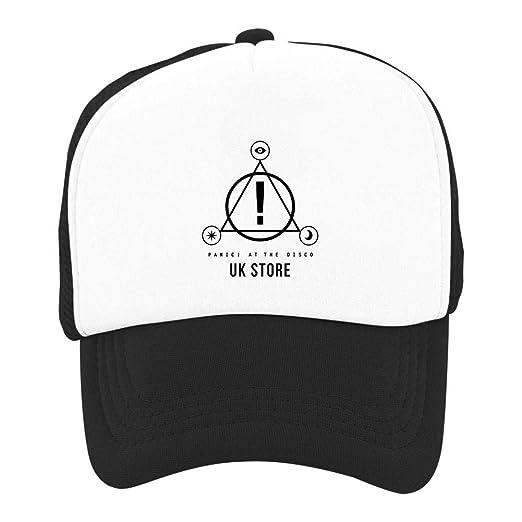 d609487e1cf KssKsa Kid Youth Baseball Cap Panic at The Disco Logo Outdoor Wild Hat  Adjustable Trucker
