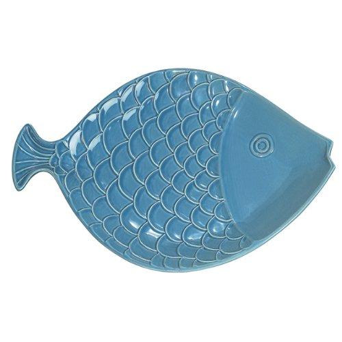 - Fish Platter - Dark Aqua - 15
