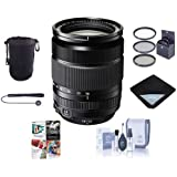 Fujifilm XF 18-135mm F3.5-5.6 R LM OIS WR (Weather Resistant) Lens - Bundle w/67mm Filter Kit, Lens Wrap, CapLeash, Cleaning Kit, Lens Pouch, and Pro Software Package