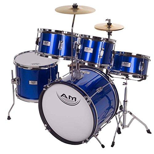 AM Percussion 16 inch 5-Piece Complete Kids / Junior Drum...