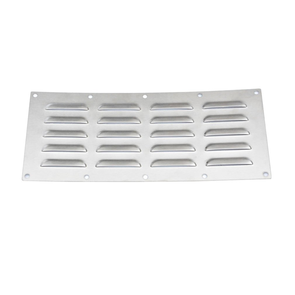 Stanbroil Stainless Steel Venting Panel for Grill Accessory, 15'' by 6-1/2''