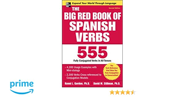 The Big Red Book of Spanish Verbs, Second Edition: Amazon.es ...